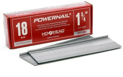 POWERNAIL 1-3/4 In. X 18-Gauge Powercleats Steel Hardwood Flooring Nails New