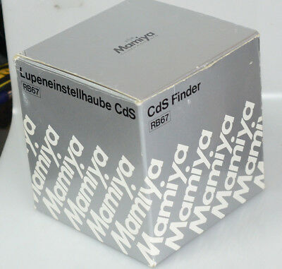 Mamiya CDS chimney viewfinder for RB67 cameras - NEW old stock