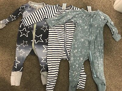 Baby Boys Bonds Zippy Suit 00 Bodysuit Bundle