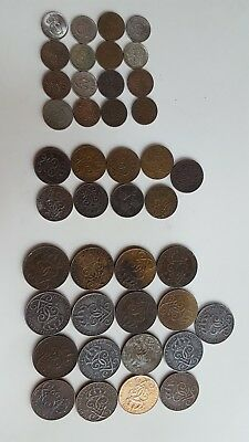 Sweden Coins Lot with Date Range 1911 - 1962 See Pictures & Detailed Description