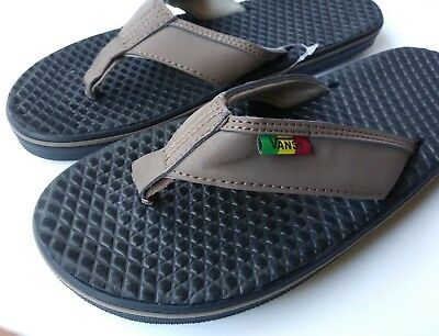 5fa5179d42 VANS BROWN SANDALS La Costa Shitake Rasta Multiple Sizes Flip Flops -   39.95