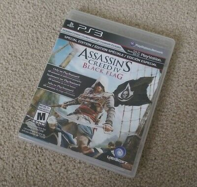 Assassin's Creed IV: Black Flag (PlayStation 3) PS3 Complete GREAT CONDITION