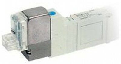 SMC SY3140-5FU-Q 5 Port Solenoid Valve, Plug-in Stacking Base
