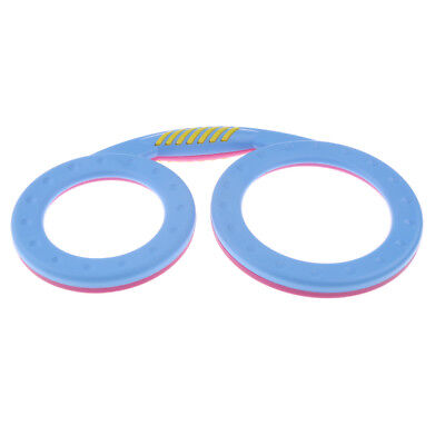 1 Piece Plastic Glasses Shape Hand Drum for Toddler Baby Percussion Toys