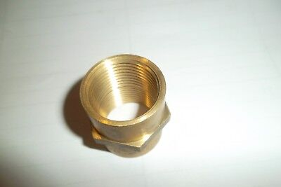 25mm female - 25mm female  Solid Brass Connector*Aust / N.Z Approved