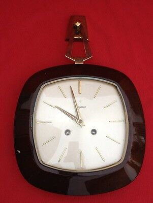 Pendulum / Chime Music Mechanical Junghans / Clock Vintage Germany