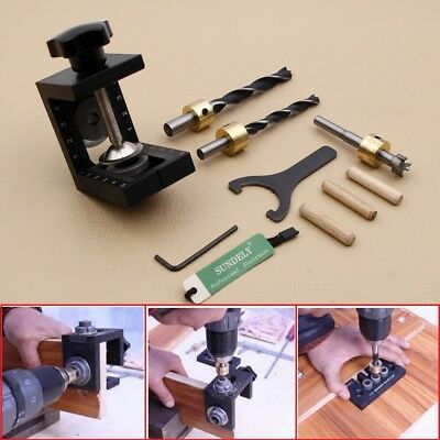 Kreg Jig Pocket Hole Drill Guide Woodwork Joinery Carpentry Drilling Tool Kit