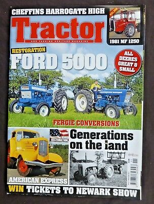 Tractor And Farming Heritage, November 2011, Ford 5000, All Deeres, MF 1250