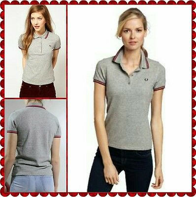 FRED PERRY Ladies Twin Tipped Vintage Steel size 10 BNWT