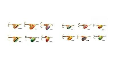 Mapso Saja Trout Spinner Twin Pack Trout Lure Spinners Celta Style The Best New