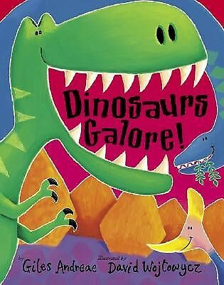 Dinosaurs Galore! by Andreae, Giles -Paperback