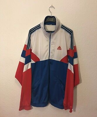 ADIDAS (L) Sportjacke Vintage L:70' pit to pit/ Achsel zu Achsel: 69' 45€