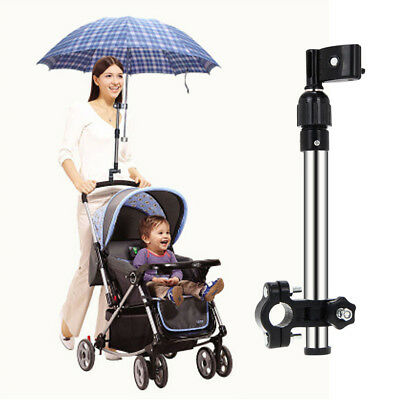 US Umbrella Holder Mount Stand Handle for Baby Pram Bicycle Stroller Chair B4