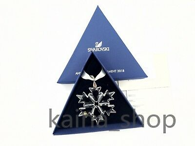 2018 #5301575 Annual Edition Large Christmas Ornament Swarovski Crystal #5301575