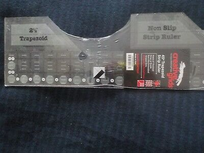 Creative Grids Trapezoid Single Strip Ruler  -  New and Sealed