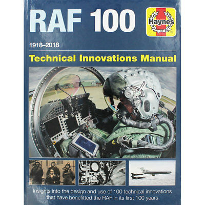 RAF 100 - Haynes Technical Innovations Manual (Hardback), Non Fiction Books, New