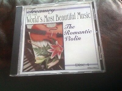THE ROMANTIC VIOLIN Disc 4, CD treasury of the worlds most beautiful music