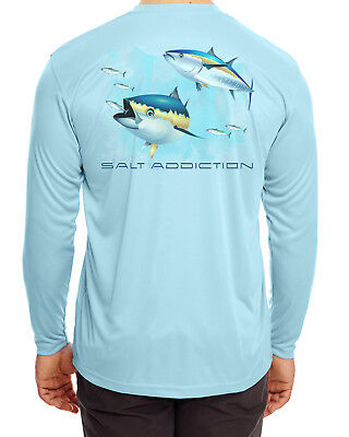 North Sails Long Sleeve Microfiber UPF Fishing Sailing Shirt Seafoam Green