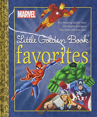 Marvel Little Golden Book Favorites: The Amazing Spider-man/Mighty Ave, Books, G
