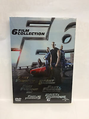 FAST & FURIOUS  6 FILM COLLECTION - cofanetto dvd