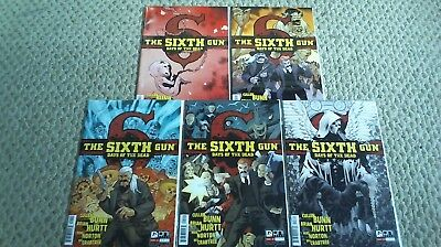 Sixth Gun : Days Of The Dead #1-5, 1 2 3 4 5 Complete Series Oni Press  /544/