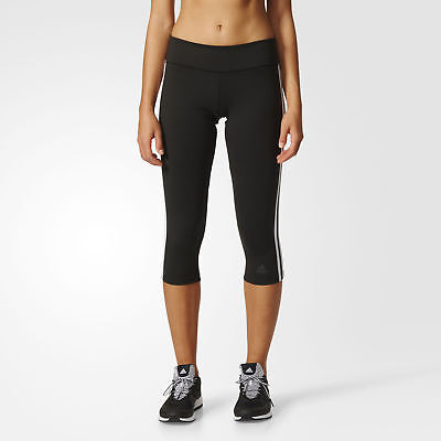 adidas D2M Three-Quarter 3-Stripes Tights Women's