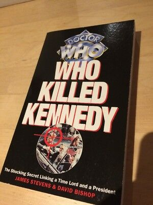 Doctor Dr Who Book Who Killed Kennedy Novel Virgin 1996 New Adventures Na