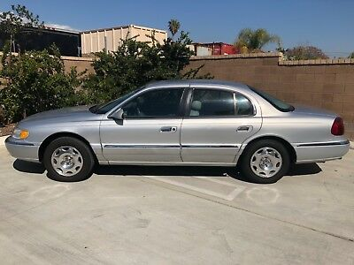 1998 Lincoln Continental LUXURY 62K Miles SOUTHERN CALIFORNIA CORROSION FREE LOW MILEAGE LUXURY BEAUTY!