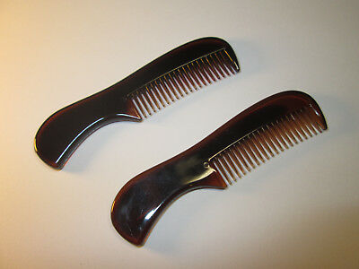 Moustache & Beard Comb Fast Free Postage Use With Wax Movember TWIN PACK BARGAIN