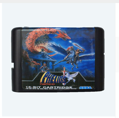 Phelios 16 bit SEGA MD Game Card For Sega Mega Drive For Genesis