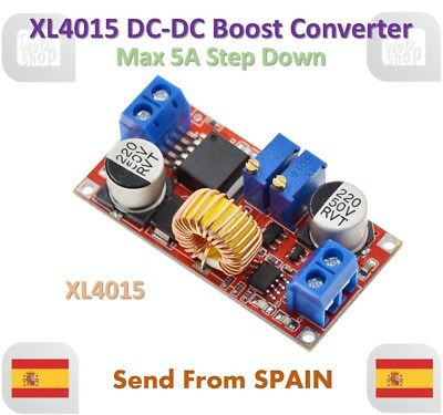 5A Max XL4015 DC to DC CC CV Step-Down Lithium Battery Charger Converter
