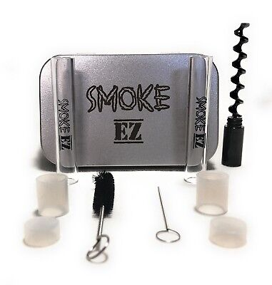 Official Smoke EZ  Mini Twisty Glass Blunt/joint -Kit And Travel Case Ships Fast