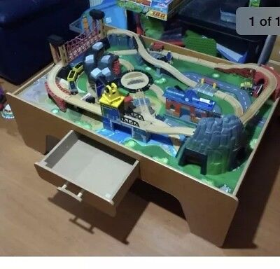 Cool Universe Of Imagination Mountain Rock Train Table Contemporary ...