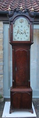 Antique Longcase Clock. 8 Day. Geo Bickerton Elsemere. Wilson Dial. c1790.