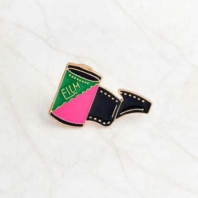Film Enamel Pin