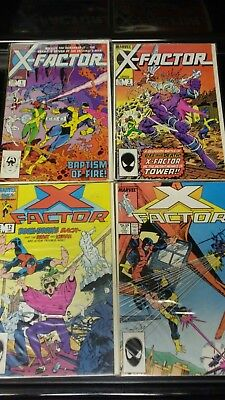 X-factor lot of 4. 1, 2, 12, and 17