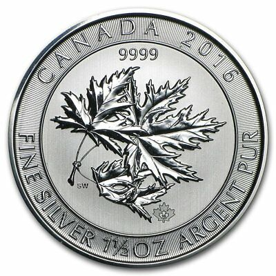 Canada - Multi Maple Leaf 2016 - 1,5 OZ Silver Argento