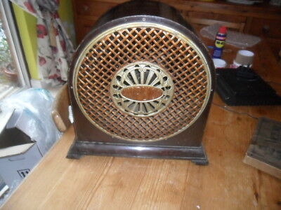 A very old Amplion Radio speaker with a drive unit