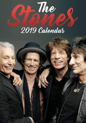 2019 A3 The Rolling Stones Calendar Wall Calender By Oc