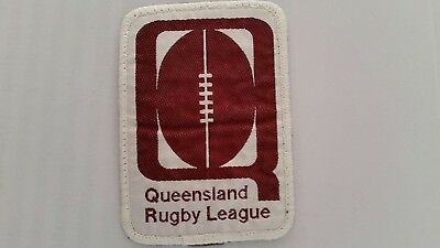 Queensland Rugby League Sew On Patch / Badge
