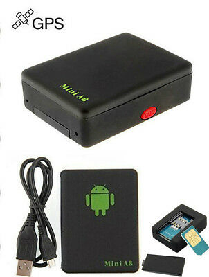 MINI A8 GPS Tracking Real-time SIM GSM Pr Car Motorcycle Monitor Tracker Traceur