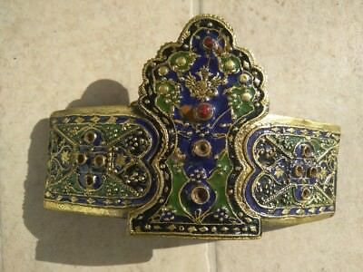 Vintage Greek traditional women's buckle from Evros-Didimoteiho