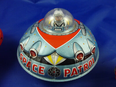 Raumschiff, Ufo Space Patrol, made in Japan 60er Jahre -  No Reproduction!!!