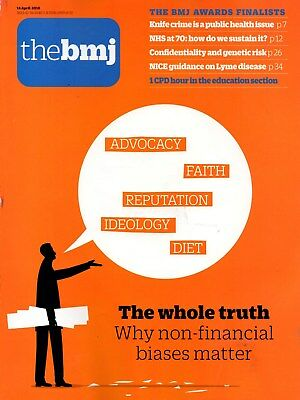 British Medical Journal BMJ14 March 2018 (No. 8148)