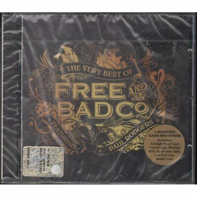 Free Bad Company Paul Rodgers CD The Very Best Of free & bad company Sealed