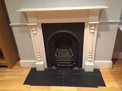 Cast Iron Victorian Edwardian Fireplace And Surround