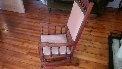 Antique American  Rocking Chair - very pretty shape