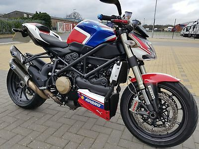 Ducati Streetfighter 1098 Troy Bayliss Paint Termignoni Exhaust Not F848