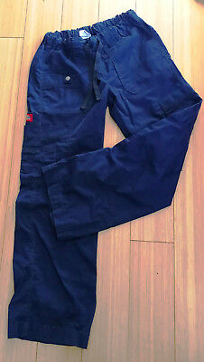 Dickies Full set of scrubs in Navy Blue Pants+Scrub top 2XS Excellent condition