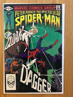 Peter Parker, The Spectacular Spiderman #64 VF/NM Mar 1982 1st Cloak and Dagger